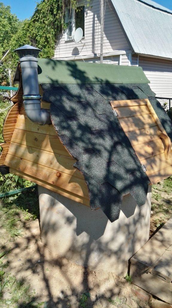 Герметизация колодца на глине деревня Пальчино